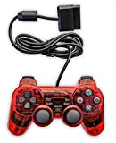 Donop® Wired Clear Black and Red Gaming Controller Console Game Pad for Ps2 Reviews