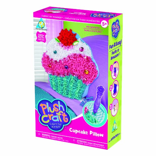 The Orb Factory Limited Plush Craft Cupcake Pillow ()