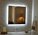 Mirrors and Marble MAM93030 Commercial Grade 30'' x 30'' Side Lighted