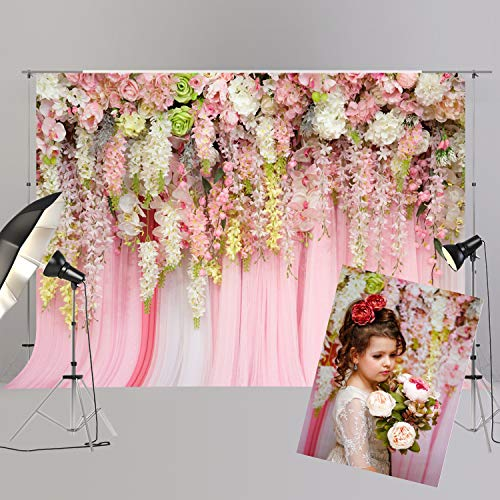 Bridal Shower Large Wedding Pink Backdrop Dessert Table Decoration Background for Valentine Party XT-6740 -