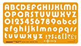 Linograph Lettering Template Bold- I Drawing