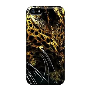 Iphone Cover Case - Leopard Protective Case Compatibel With Iphone 5/5s