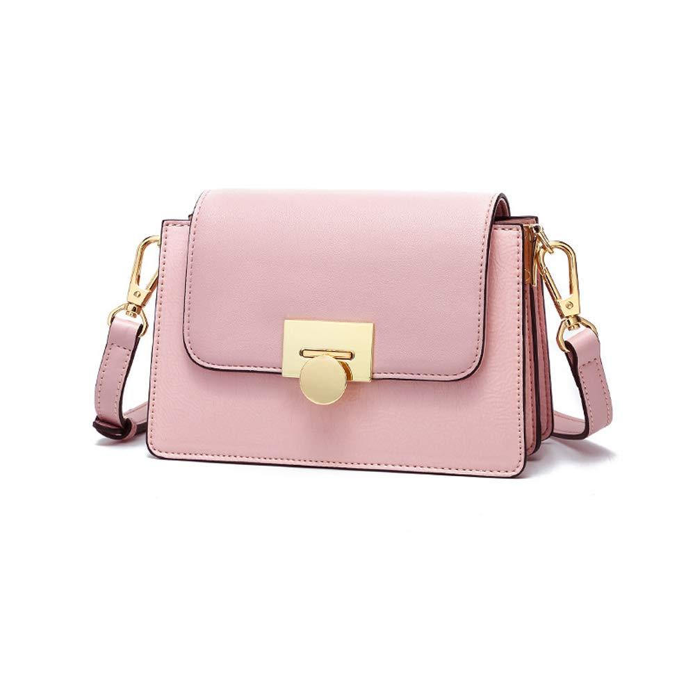 Color : Red Amyannie Summer Organ Small Square Bag Wild Shoulder Messenger Bag