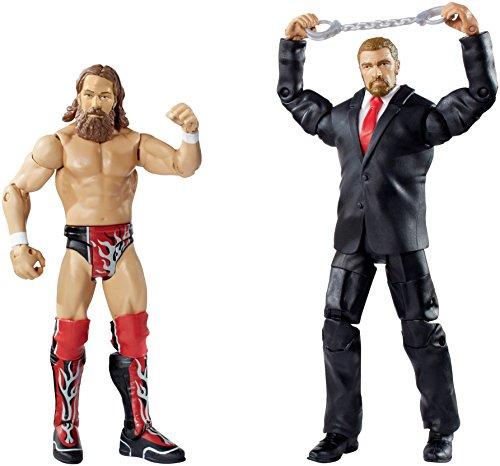WWE Battle Pack Series #32 - Daniel Bryan vs. Triple H Action Figure (2-Pack)