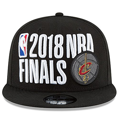 Conference Champion Cap - New Era Cleveland Cavaliers 2018 Eastern Conference Champions Locker Room 9FIFTY Snapback Adjustable Hat – Black