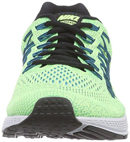 Nike Air Zoom Pegasus 32 Scarpe da Ginnastica, Uomo Ghost Green/Black-copa-bl Lgn