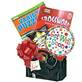 Get Well Soon Gift Box: for Men, Women, Teens with Puzzle Books an Entertaining Get Well Gift