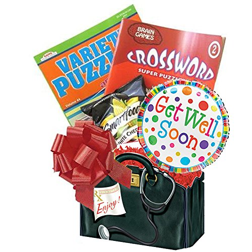 Get Well Soon Gift Box: for Men, Women, Teens with Puzzle Books an Entertaining Get Well Gift by Gifts Fulfilled