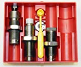 Lee 300 AAC Blackout PaceSetter 3-Die Set. Includes Full Length Sizing Die, Easy Adjust Dead Length Bullet Seating Die, Factory Crimp Die, Universal Shell Holder, Powder Dipper and Instructions/Load Data.
