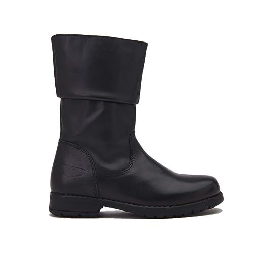 8344b152 Lelli Kelly HIGH Boots LOLA with LATERAL Zip Kids LK3618 Black Size: 27EU -  9UK