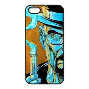 Breaking Bad Series, Black / White Design TPU Snap On Case For Iphone 5 5s