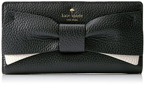 Eden Lane Stacy Wallet, Black/Cement, One Size