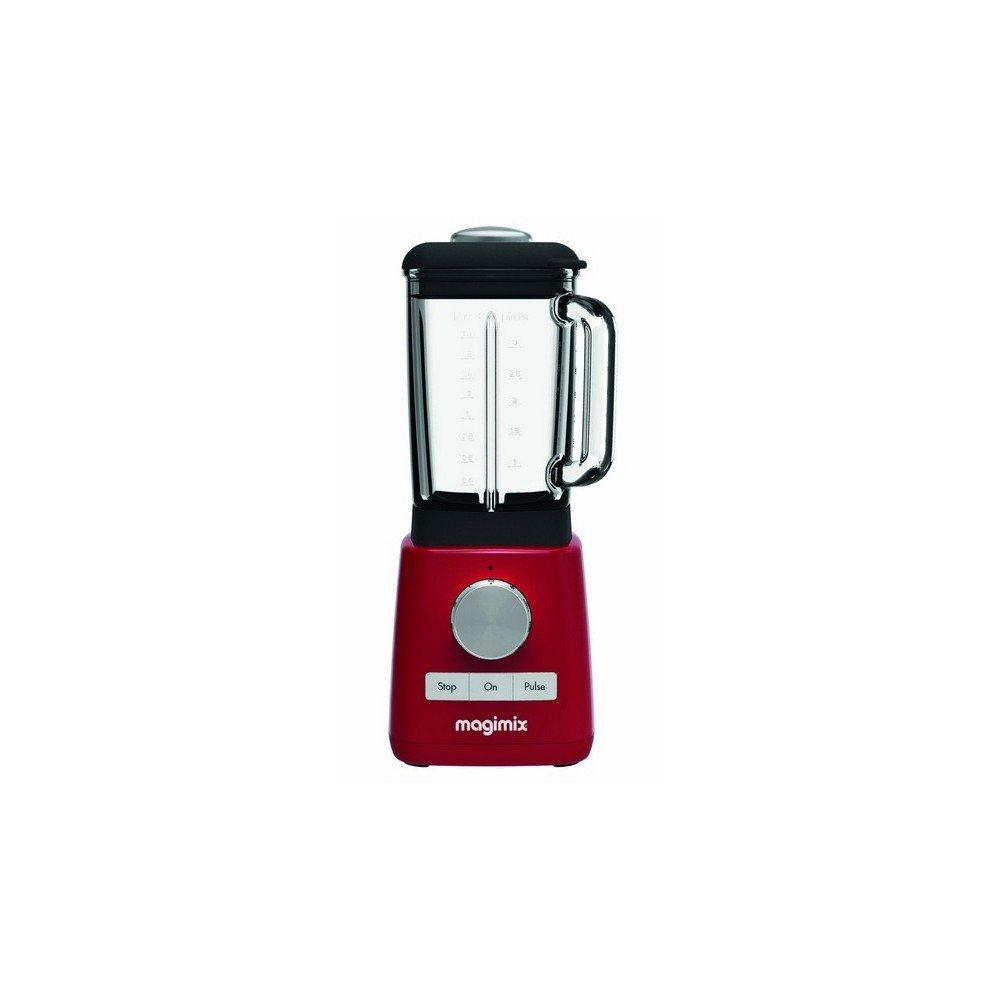 Magimix 11623 Batidora de vaso 1.8L 1200W Rojo - Licuadora (1,8 L, 1,8 L, 600 RPM, 15000 RPM, Batidora de vaso, Rojo): Amazon.es: Hogar