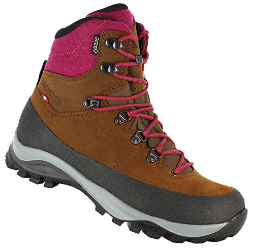 cheapest price online original online Dachstein ROOF Stone Gate GTX Goretex Women's Waterproof Hiking Backpacking Boots with Vibram Sole dark brown-cranberry sale classic GxDgBqUL