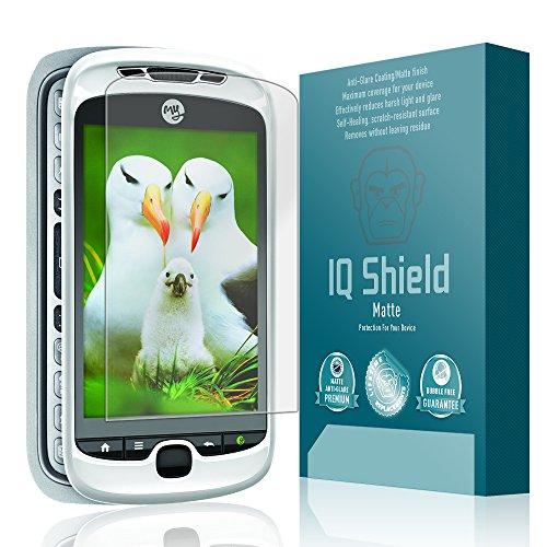IQ Shield Matte Full Coverage Anti-Glare Screen Protector for T-Mobile MyTouch 3G Slide Anti-Bubble Film
