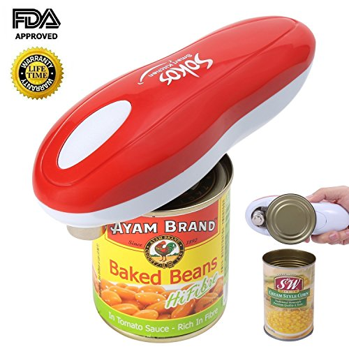 Electric Can Opener, Sokos 2*AA ...