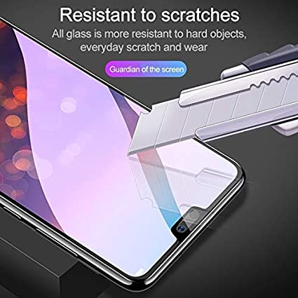 Color : Black ALICEWU WJH 25 PCS Scratchproof 11D HD Full Glue Full Curved Screen Tempered Glass Film for Huawei Honor 9 Lite Black