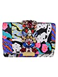 Luxury Fashion | Gedebe Womens CLICKYPATCHWORK Multicolor Clutch | Fall Winter 19
