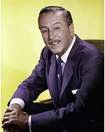 Globe Photos ArtPrints A Walt Disney Wearing A Navy Suit - 11