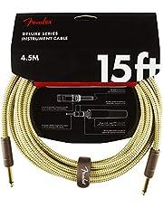 Fender Kabel Deluxe Series, 4,5 m, tweed