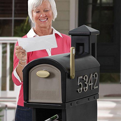 Amazon Com Step2 Mailmaster Hudson Mailbox Garden Outdoor