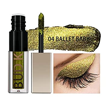 Beauty Essentials Bud K Glitter Liquid Eye Shadow Shimmer Makeup Waterproof Long Lasting Eyeshadow Pencil Pen Shining Eyes Cosmetics