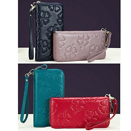 Money Card wrist Purse Clutch Holder Zipper Checkbook Strap Babypink Welegant Long with Clip Women amp; Wallet Organizer Slot Case TxPnWI