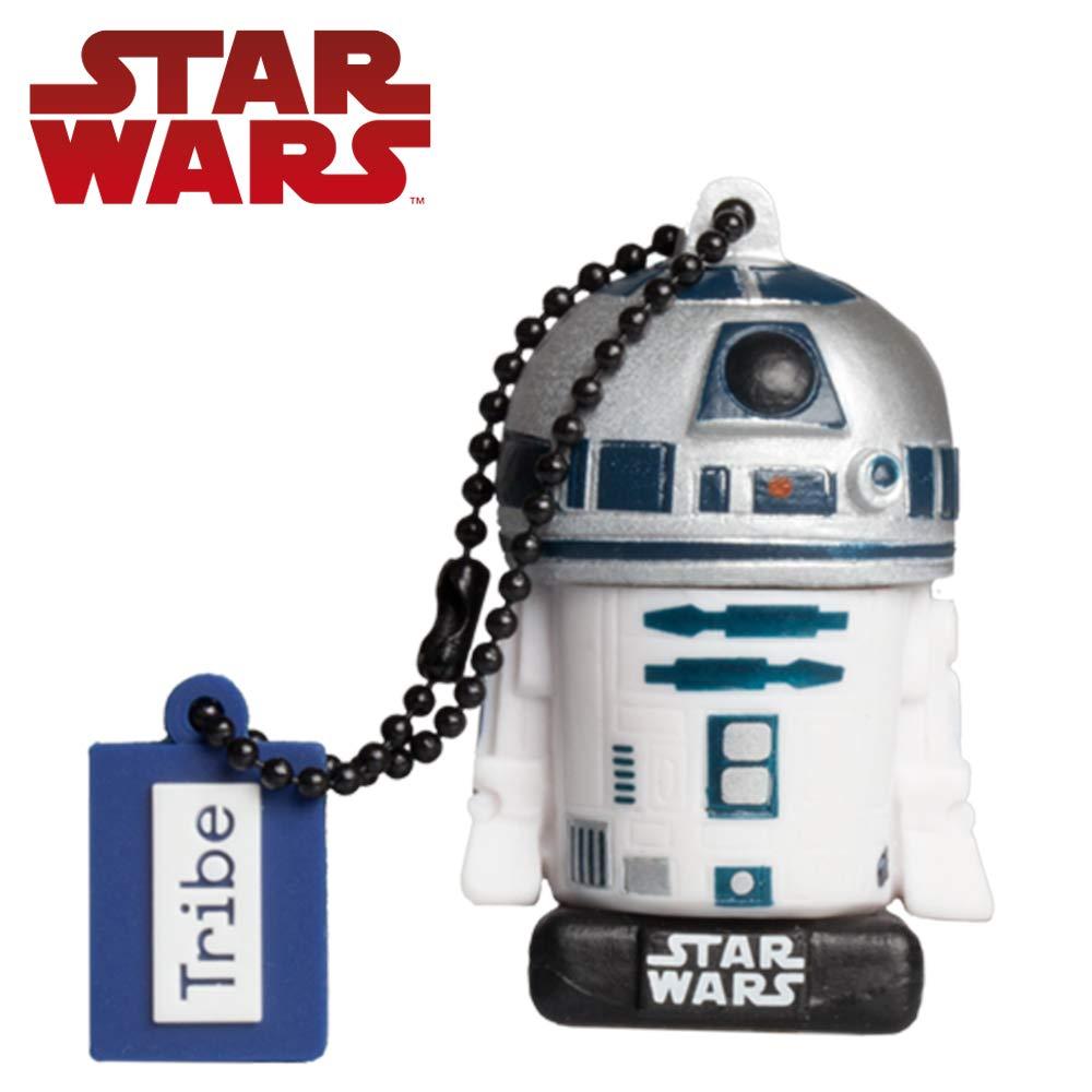 Tribe, Star Wars R2D2, 32GB USB Flash Drive, 2.0 Memory Stick Keychain