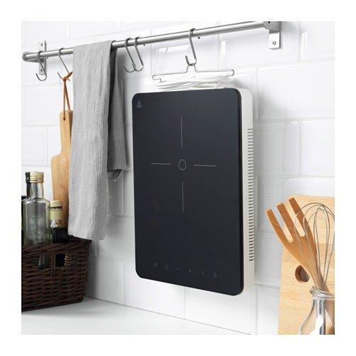 Ikea tillreda piano cottura a induzione in Bianco; tragbar: Amazon ...