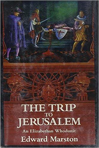 The Trip to Jerusalem: An Elizabethan Whodunit