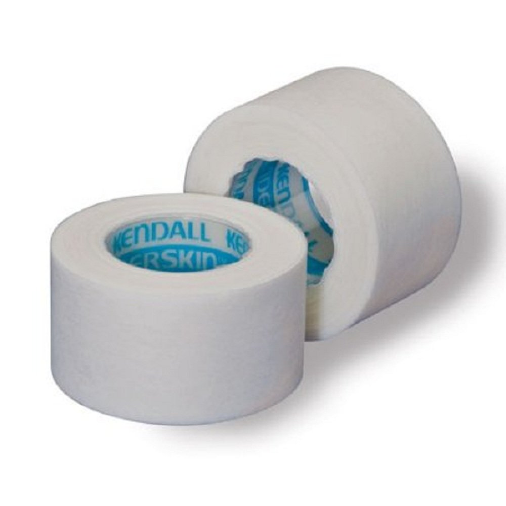 Kendall - Hypoallergenic - Medical Tape Kendall - Hypoallergenic Paper 1/2 Inch X 10 Yard White NonSterile - 240/Case - McK