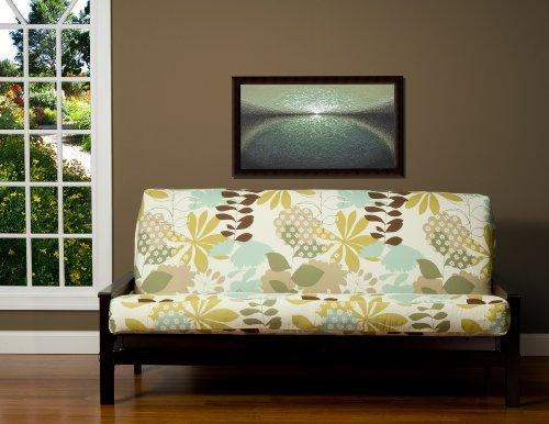 SIS Cover English Garden Futon Cover Fabric (Removable futon cover fabric only. Futon frame and futon mattress sold separately) - - E-frame Slipcover