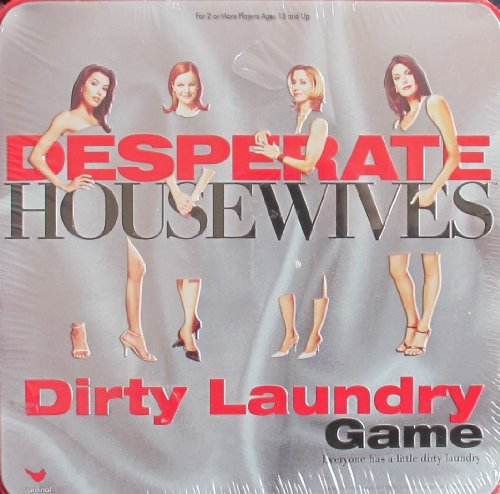 Cardinal DESPERATE HOUSEWIVES DIRTY LAUNDRY Game w TIN Case (2005)