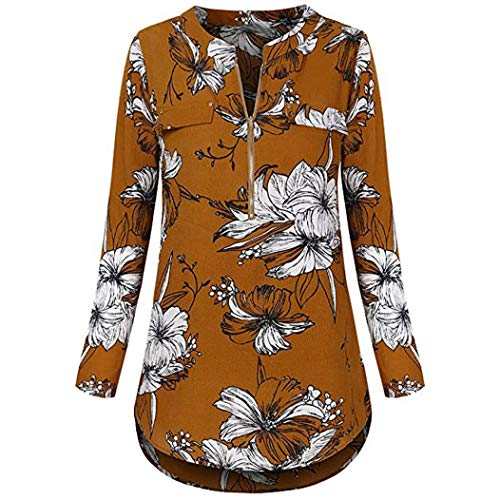Blouses Chiffon WomenMITIY Split V Neck Cuffed Sleeve Print Blouses ShirtTops Apparel Clothes from MITIY Women Clothes