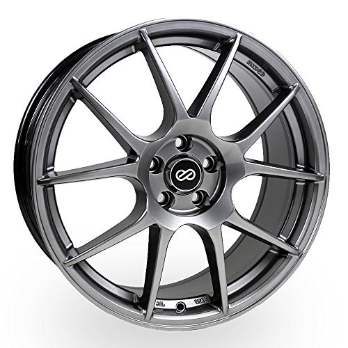 (18x8 Enkei YS5 (Hyper Black) Wheels/Rims 5x100)