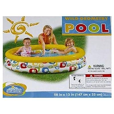 Intex Wild Geometry Pool: Toys & Games