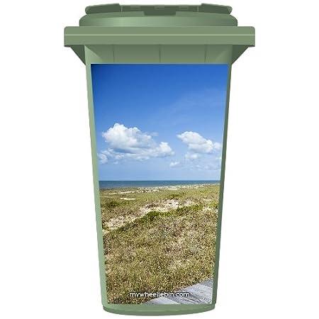 Balón de la playa de basura Wheelie Panel de vinilo, small: Amazon ...