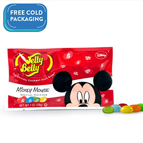 WH Candy Jelly Belly Mickey Mouse Special Edition 1 oz Bags
