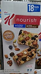 Special K nourish bars variety pack 18 bars