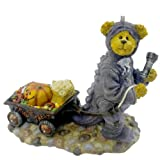 Boyds Bears Resin Rex Bearsley Haulin A Nights Work Halloween Bearstone - Resin 4.00 IN