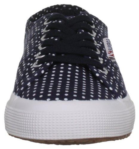 Superga - Zapatillas de deporte de lona para mujer azul - Pois Navy/White
