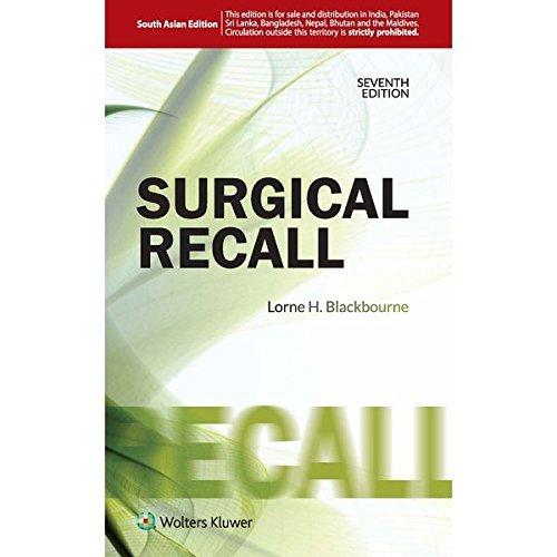 SURGICAL RECALL, 7E