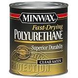 Minwax 230104444 Fast Drying Polyurethane Satin, 1/2 pint