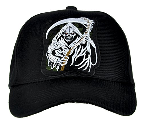 Grim Reaper from Hell Death Hat Baseball Cap
