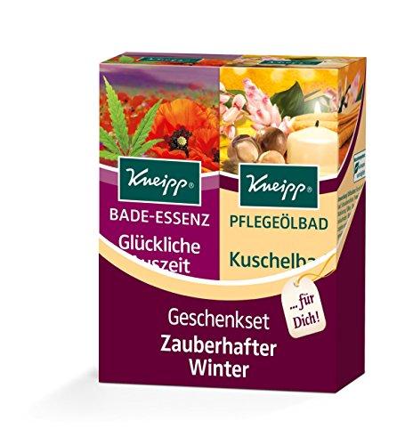 Kneipp Geschenkset Badeset Zauberhafter Winter, 2 x 100 ml