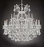 Cheap Maria Theresa Empress Crystal(tm) Chandelier Chandeliers Lighting H 36″ W 36″