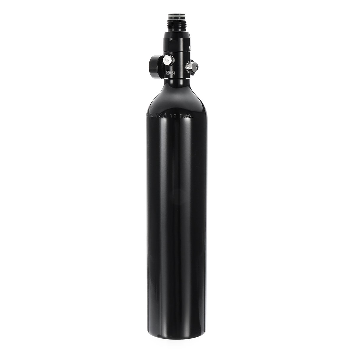 0.5L Liter Aluminum Tank Air Bottle With 4500 PSI Regulator For Paintball PCP by Ologymart (Image #1)