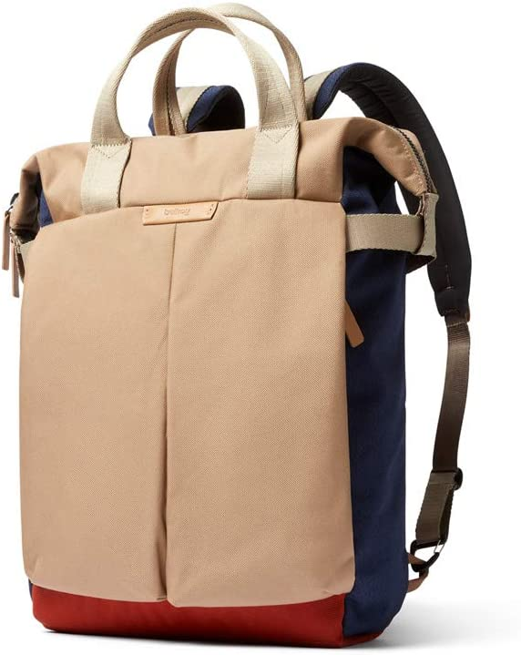 """Bellroy Tokyo Tote Backpack (Convertible Tote Backpack, Fits 15"""" Laptop) - Desert Ochre"""