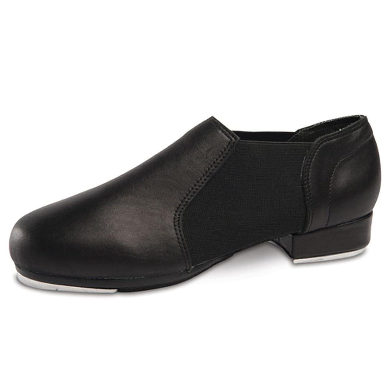 durable service danshuz womens black leather slip on