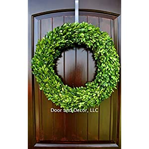 Round Real Preserved Boxwood Wreath for Home Decor in Multiple Sizes 18